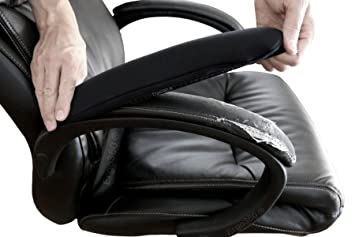 Soft Chair Arm Pad Covers Stretch Over Armrests 13u0026quot; To 18u0026quot; Long.  Restore