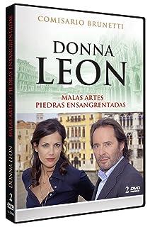 Donna Leon: Malas Artes + Piedras Ensangrentadas (Die Dunkle Stunde der Serenissima + Blutige Steine) 2008 [DVD]