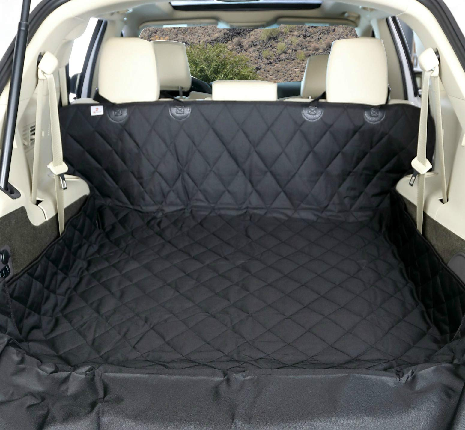 4Knines SUV Cargo Liner for Dogs - Black Extra Large - USA Based Company