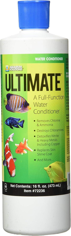 Hikari Usa AHK72236 Ultimate Cloram-X Water Conditioner for Aquarium, 16-Ounce