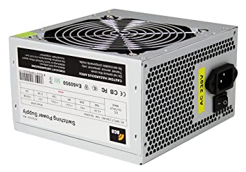 ACE 400W PSU with 12cm Fan and SATA 24-Pin Model - Grey: Amazon.co ...