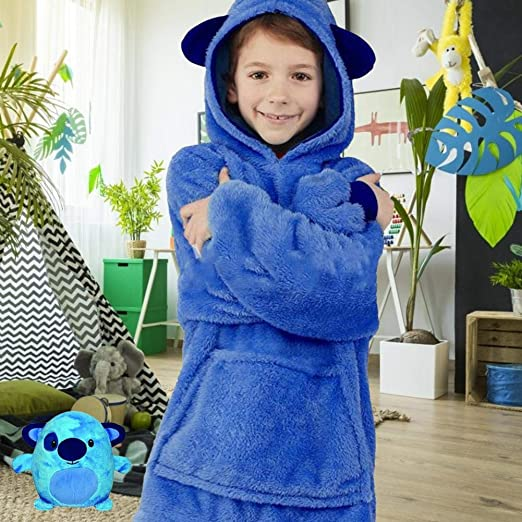 Chen0-super 2019 Sudadera con Manta para niños, Traje de ...