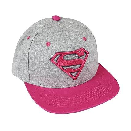 Amazon.com: DC Comics Premium Cap Pink Superman Logo Cerda Berretti Cappelli: Toys & Games