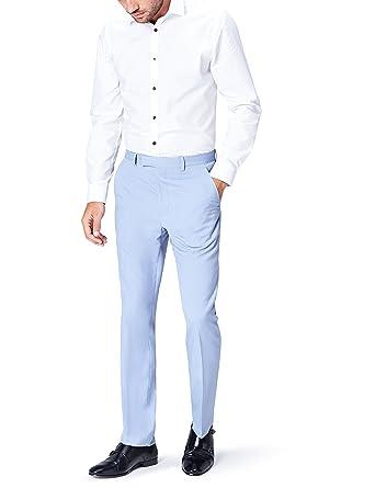 FIND Herren Anzughose mit Struktur  Amazon.de  Bekleidung e3fd09a740