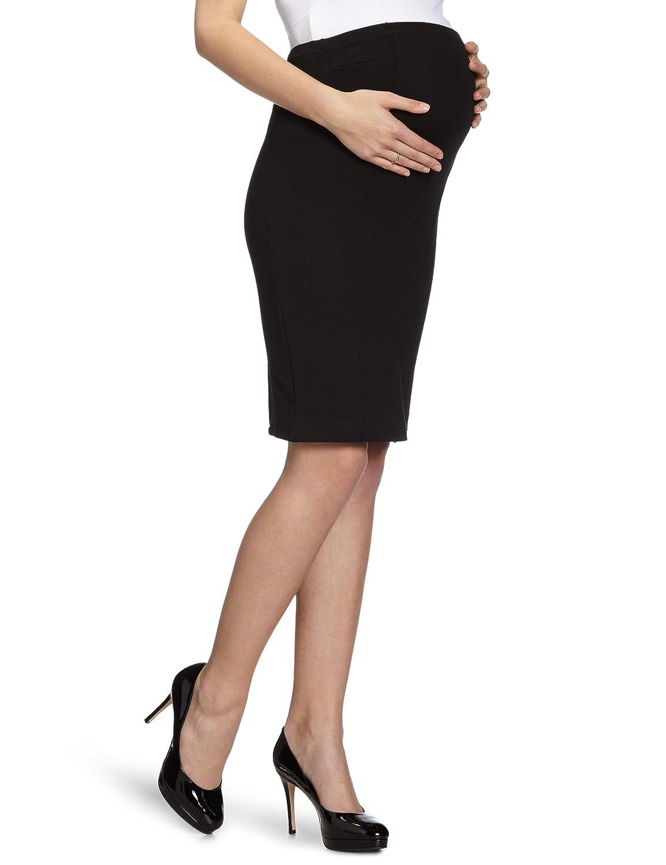 MAMALICIOUS - Falda premamá para Mujer, Talla 42, Color Negro ...
