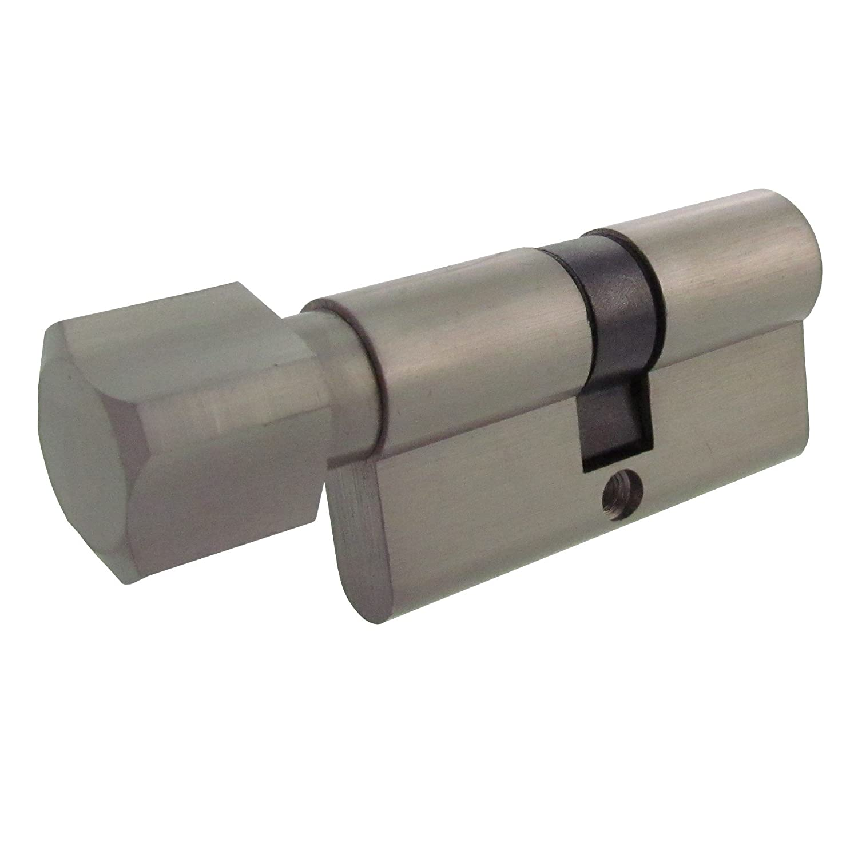 5 Schl/üssel 6x Zylinderschloss gleichschlie/ßend 1x80mm 2x70mm 1x40mm //1x80mm Knauf 1x60mm Knauf inkl
