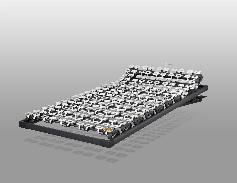Lattoflex 320 Unterfederung, Kopteilverstellung manuell, Reflux-Einstellung manuell (100 x 190 cm)