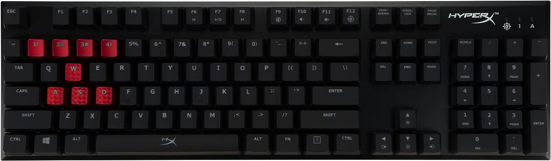 Kingston HYPERX Alloy FPS Mechanical Gaming Keyboard,MX Blue ...
