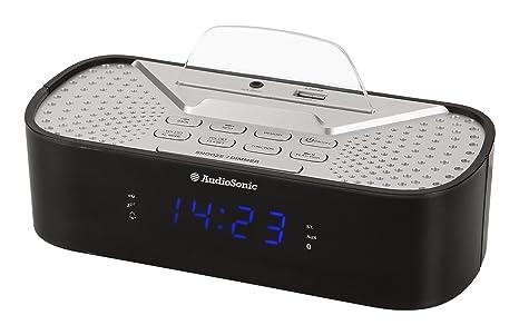AudioSonic CL-1463 - Radio (Reloj, Digital, FM,PLL, 6