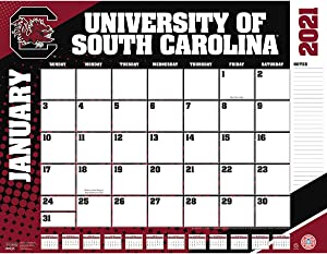 TURNER Sports South Carolina Gamecocks 2021 22X17 Desk Calendar (21998061488)