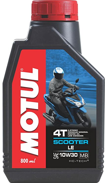 Motul Scooter Le 10w30 Engine Oil 800 Ml Amazonin Car Motorbike