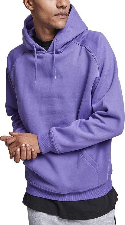 TALLA XL. Urban Classics Blank Hoodie Sudadera con Capucha para Hombre