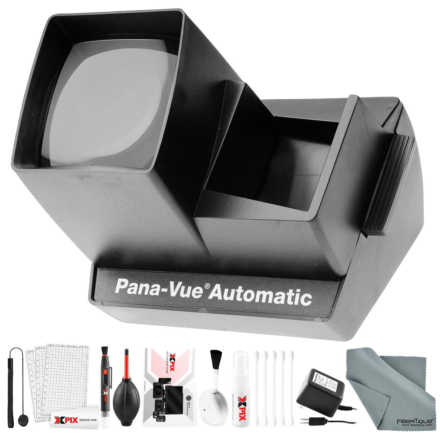 Pana-Vue 6566 Automatic Slide Viewer with Transformer and Deluxe Cleaning Kit by Pana-Vue / Photo Savings