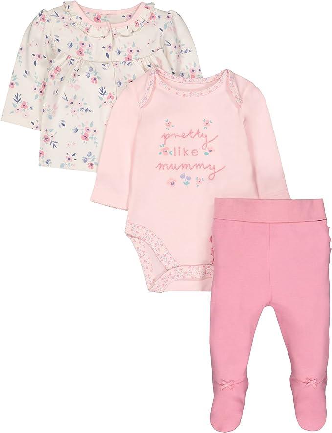 Mothercare Baby Boys Mummy /& Daddy Clothing Set