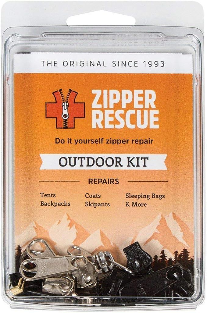 Zipper Rescue Outdoor Kit Made in USA The Original Zip Repair Kit 18pcs