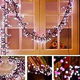 Color String Lights Indoor Firecracker decorative Wedding Patio Backyard Cafe Bedroom Festival Atmosphere Waterproof Fairy Color Light for Garden Party