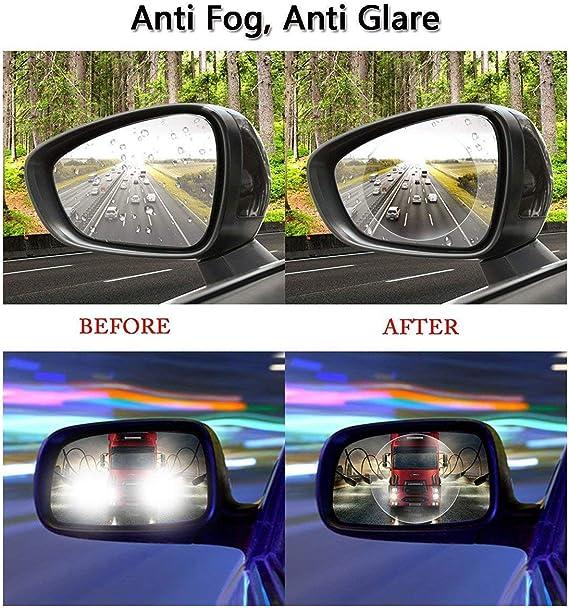 1 Pair New Auto Rearview Mirror Car Film Sticker Waterproof Anti-glare Anti-fog
