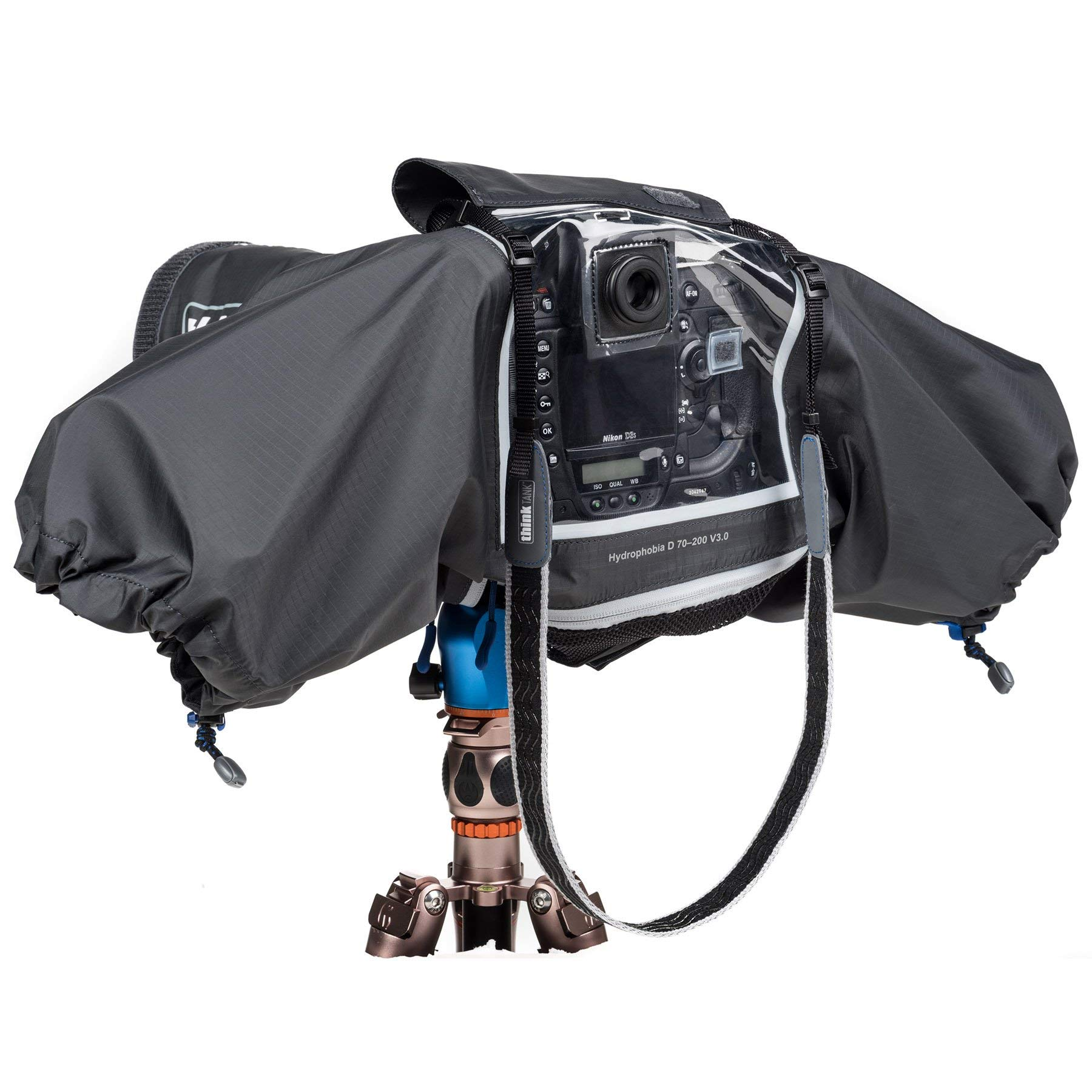 Think Tank Photo Hydrophobia D 70-200 V3 Camera Rain Cover for DSLR Camera with 70-200mm f/2.8 Lens by Think Tank (Image #2)