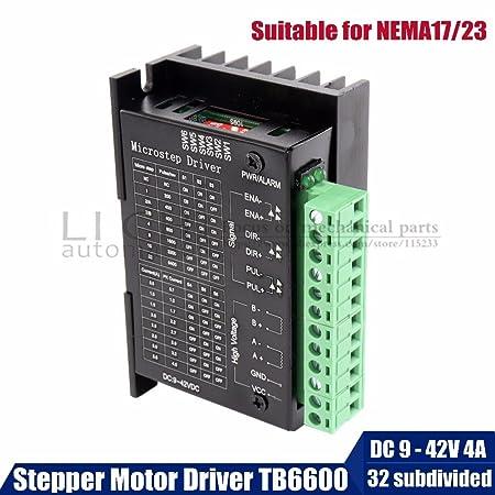 HUDITOOLS Calidad | Motor Driver TB6600 Stepper Motor Driver 2fase ...
