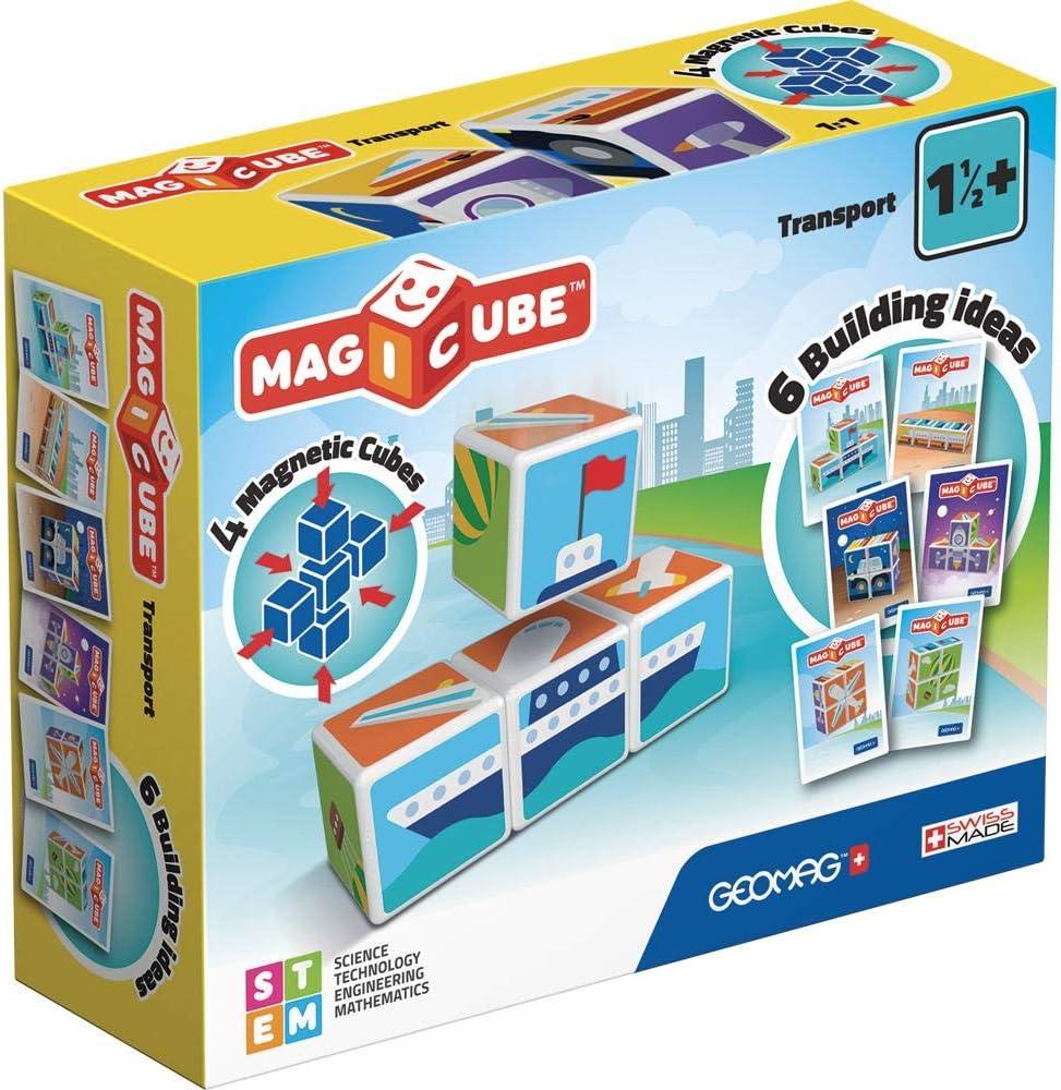 Geomag Magicube Magic Cube Transport, multicolor (00122) , color/modelo surtido: Amazon.es: Juguetes y juegos