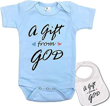 Think I/'m Cute See My Mummy Baby Feeding Bib Gift