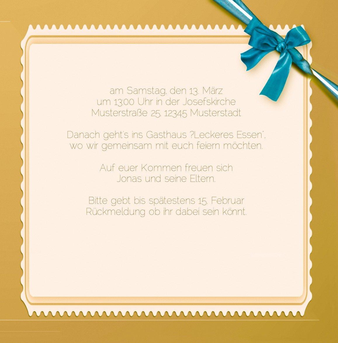 Kartenparadies Einladungskarte Taufeinladung Taufeinladung Taufeinladung Taufkarte Ribbon, hochwertige Einladung zur Taufe inklusive Umschläge   10 Karten - (Format  145x145 mm) Farbe  Rosalila B01MUGKQWH   Wirtschaftlich und praktisch    Lebendige Form    Günstige  2c9c08