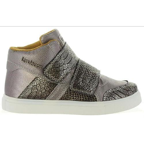 Botines de Niña LOIS JEANS 83869 Plata: Amazon.es: Zapatos y complementos