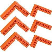 Positionering Vierkanten CINVEED 6 STUKS Positionering Vierkante Klemmen 90 Graden Type L Hoekklem Haakse…