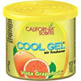 California Cool Gel Vista Grapefruit Air Freshener for Car (126 g)
