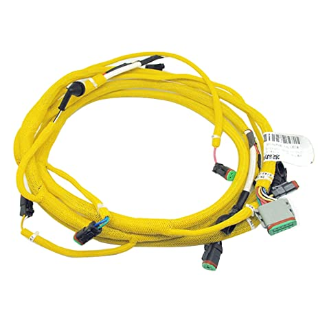 71JQLqroDPL._SY463_ amazon com sinocmp 6743 81 8310 engine wiring harness fits Largest Komatsu Excavator at couponss.co