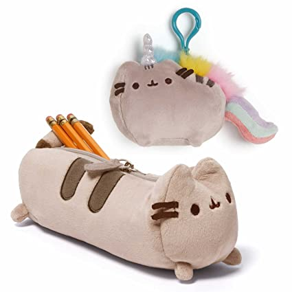 a92c6f2ef Amazon.com: Gund Set of Pusheen Accessory Case and Pusheenicorn ...