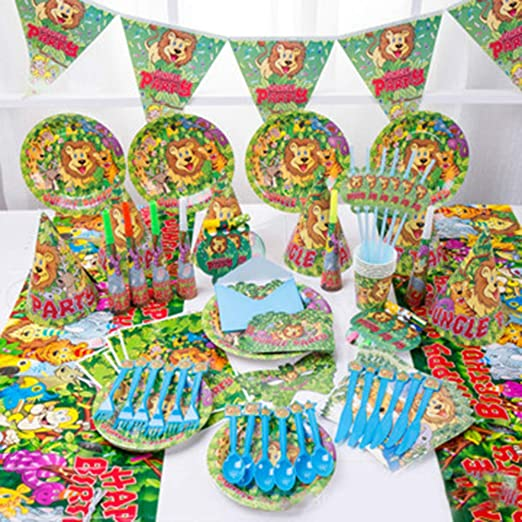 Newhaa Suministros de fiesta de cumpleaños para niños ...