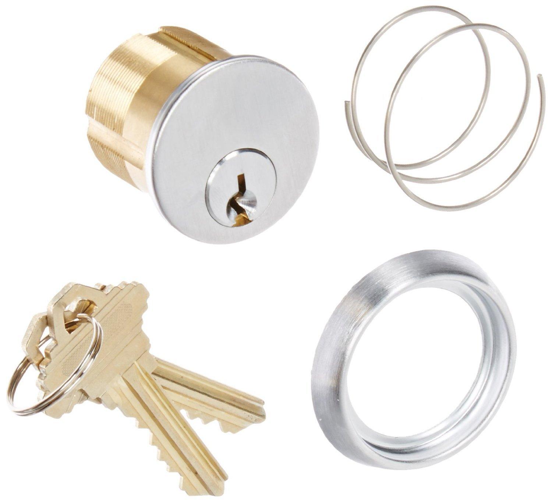 Securitron MKC Mortise Cylinder26D Keyway SC, 2 keys, 1-1/8' [並行輸入品] B019SZH1NQ