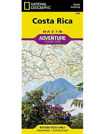 Costa Rica Adventure Travel Map (Trails Illustrated)