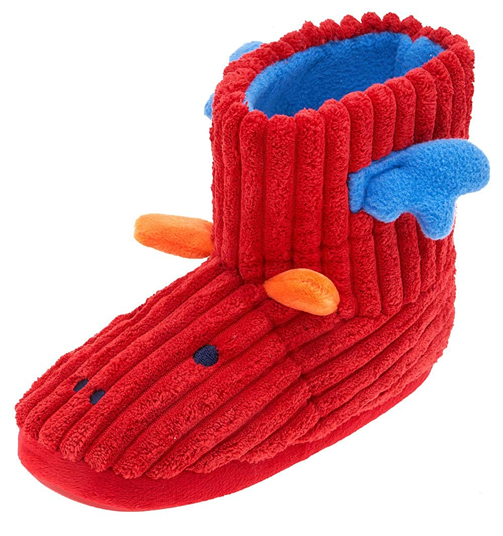 73128f3313b1d MIXIN Girl's Cute Soft Winter Warm Corduroy Comfy Anti Slip Booties  Slippers Shoes (Toddler/Little Kid)