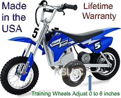 Amazon.com: Ruedas ajustables de entrenamiento para moto ...