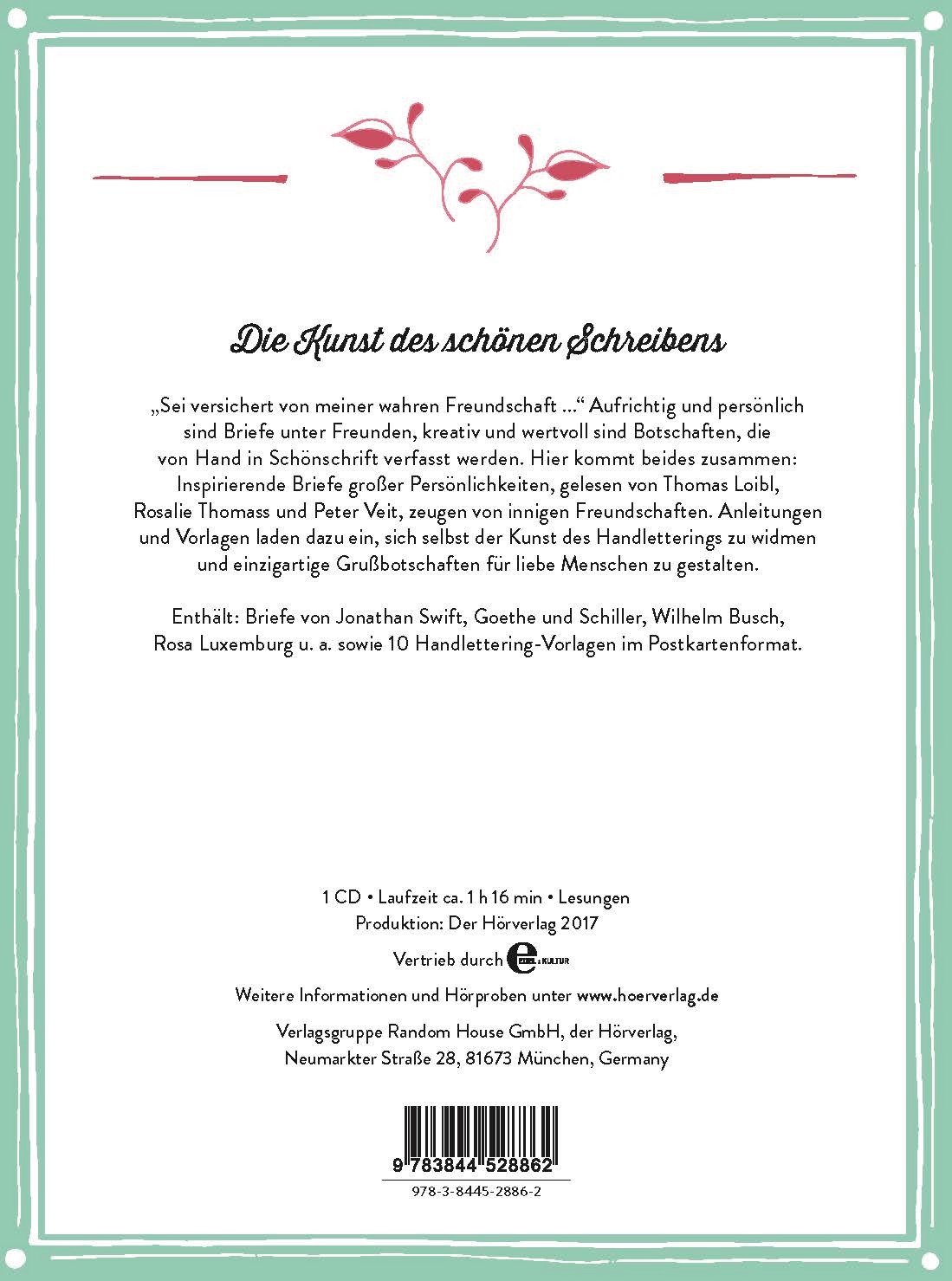 Hören & Gestalten: Handlettering: Schöne Briefe zum Zuhören und  Kreativ-Sein. Mit 10 Vorlagen zum selbst Gestalten: Amazon.de: Johann  Wolfgang von Goethe, ...