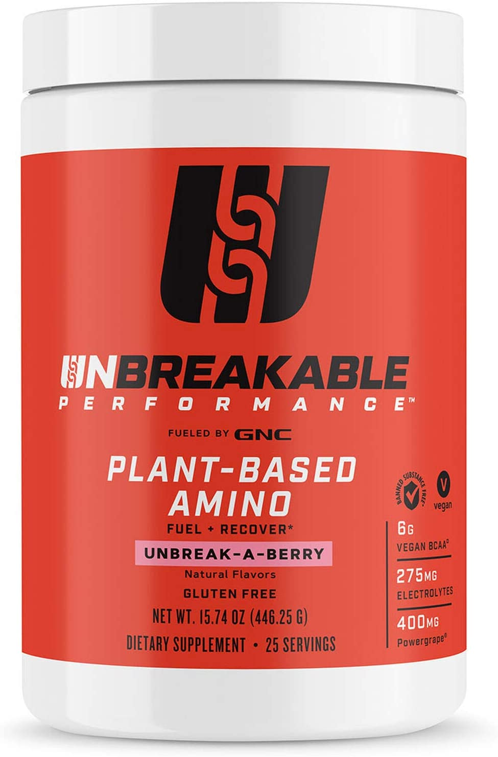 Unbreakable Performance Plant-Based Amino - Unbreak A Berry