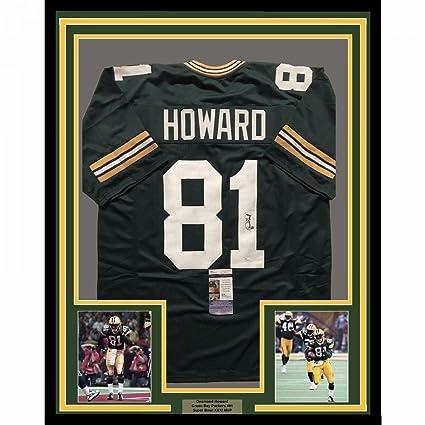 Desmond Howard Signed Jersey - FRAMED 33x42 COA - JSA Certified -  Autographed NFL Jerseys 4ec19ea01