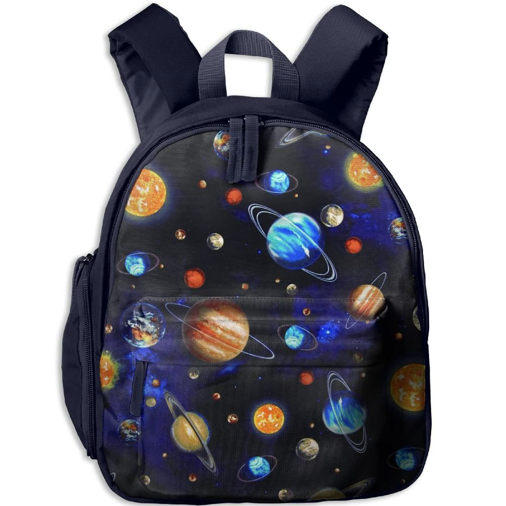 good KEPan Outdoor Galaxy Planets Kids Snack Backpack School Book Bags Gift For Toodle Teen Boys Girls