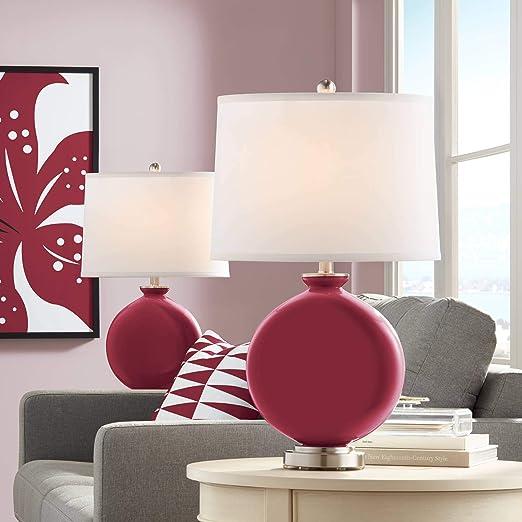 Amazon.com: Juego de 2 lámparas de mesa, diseño de carruaje ...
