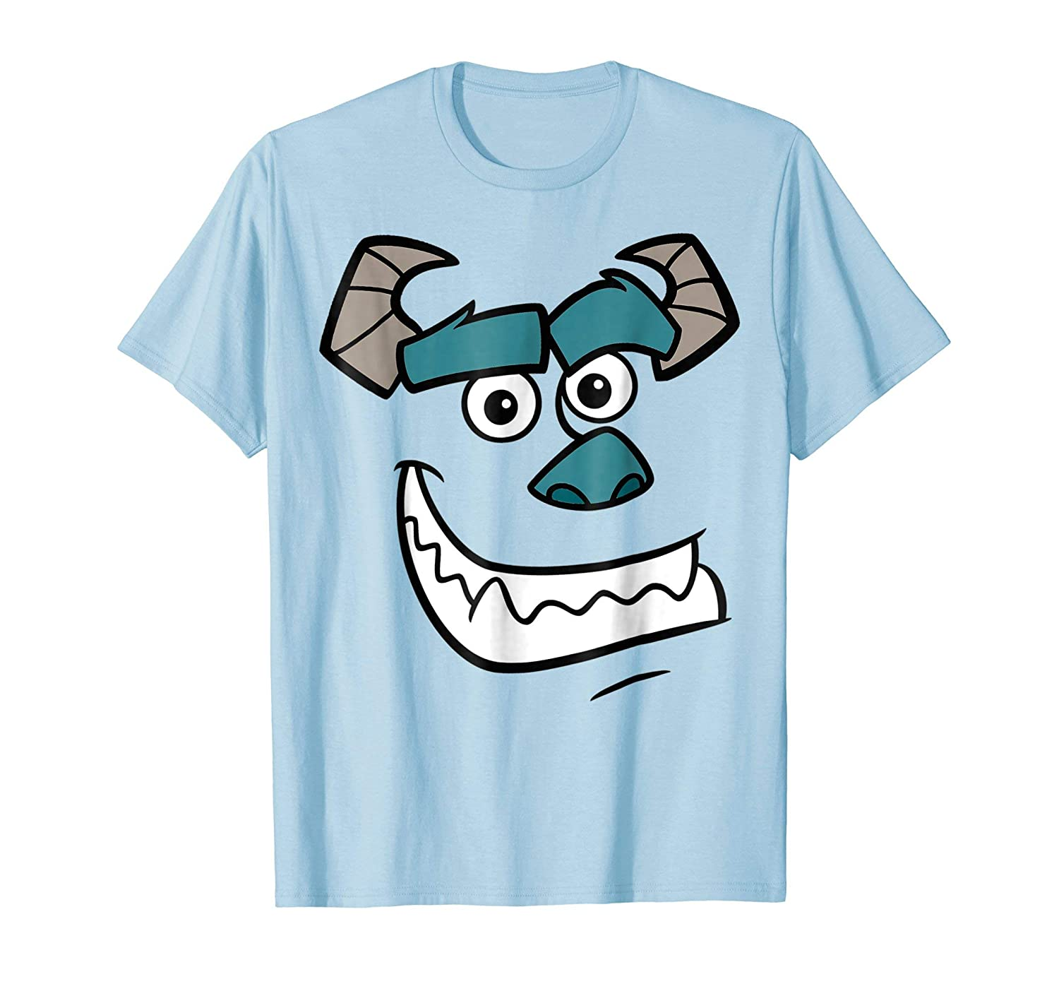 Disney Monsters Inc. Sulley Face Halloween Graphic T-Shirt