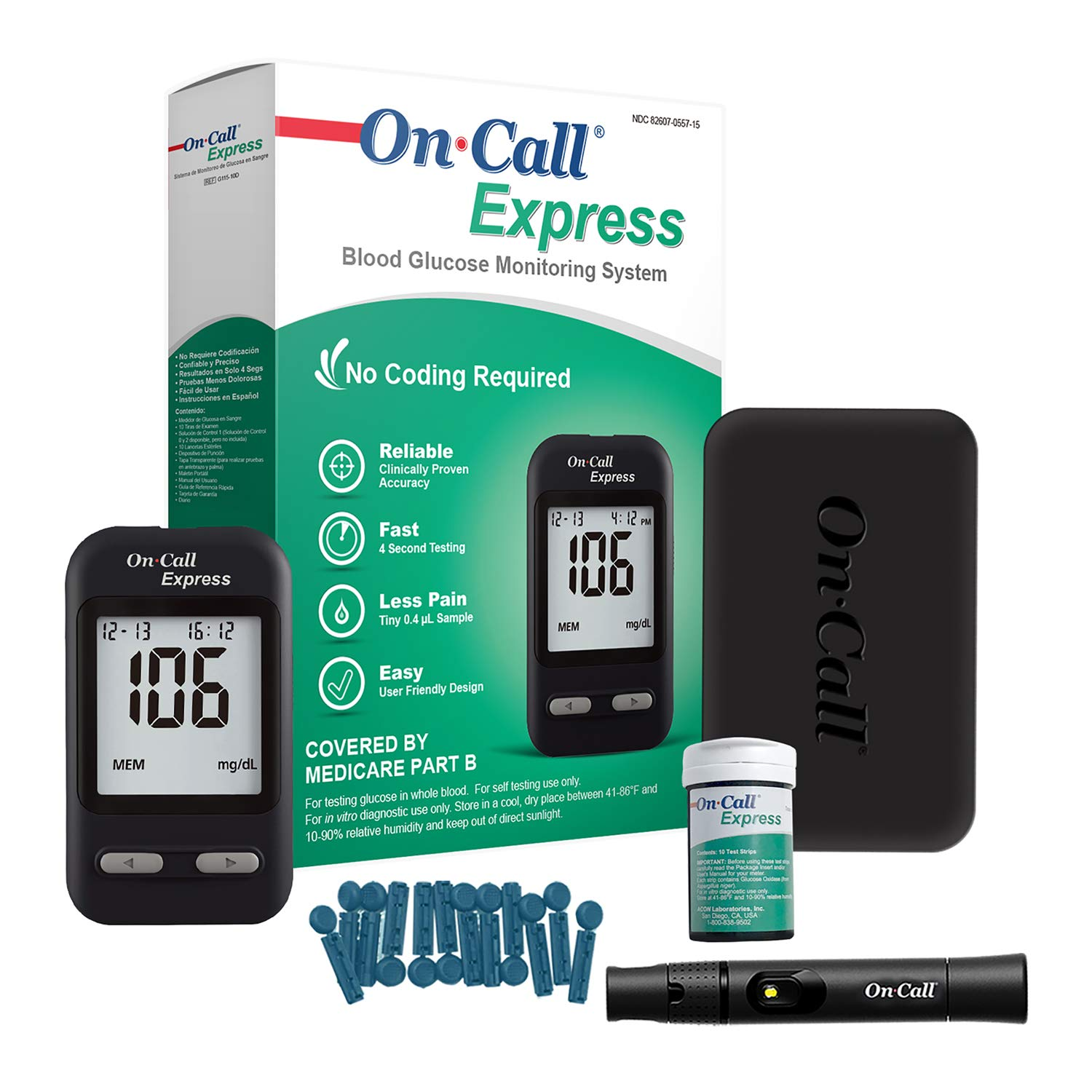 Medicare diabetic test strips version has