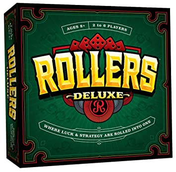 Amazon usaopoly rollers deluxe 6 player edition board game usaopoly rollers deluxe 6 player edition board game reheart Image collections