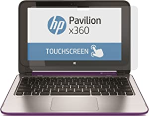 "PcProfessional Screen Protector for HP Pavilion x360 2-in-1 11.6"" Touch Screen High Clarity Anti Scratch Filter Radiation+ Microfiber Cloth"