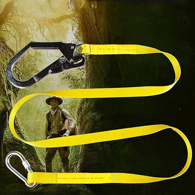 OTENGD Cinturón de arnés de Escalada, Cuerda de Escalada de Alta ...