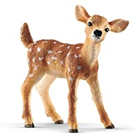 Schleich 14820 White-Tailed Fawn Toy Figure