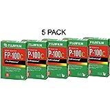 FUJIFILM FP-100C 3.25 X 4.25 Inches Professional Instant Color Film - 5 Pack
