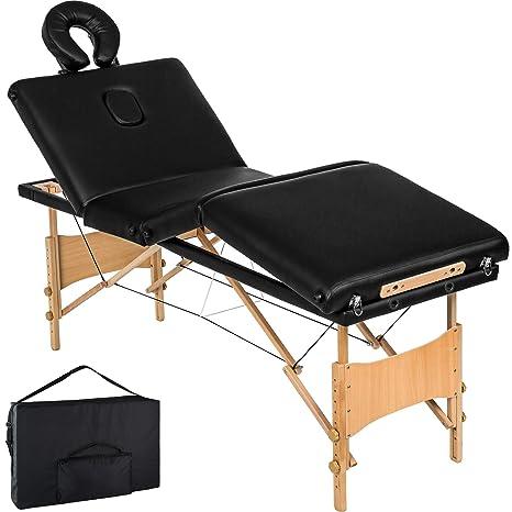 Tectake 4 Zone Lettino Da Massaggi Portatile Massaggio Fisioterapia