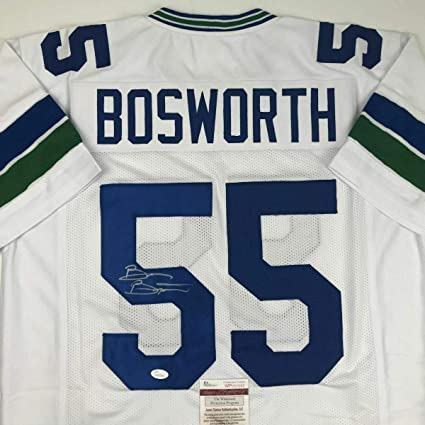 Signed Brian Bosworth Jersey - BOZ